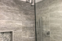 Alley Bathroom Remodeling Project in Charlotte, NC